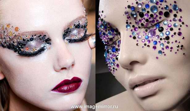 Как использовать блестки в макияже