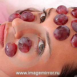 Актуально: маски для лица из винограда