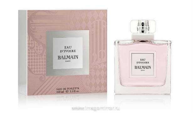 Бренд Balmain представил новый аромат Eau d`Ivoire