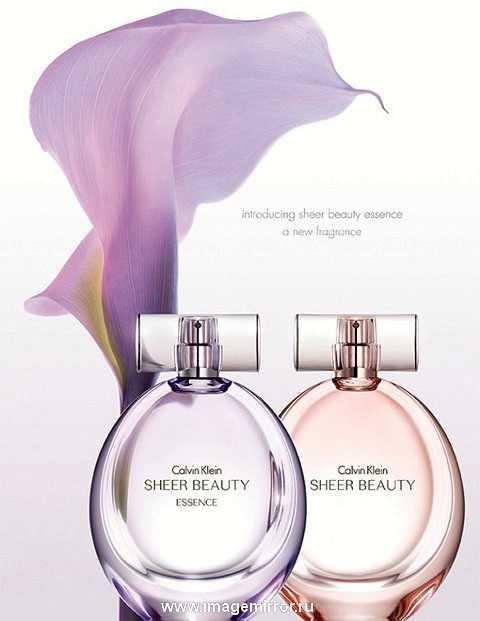 calvin klein predstavil novyy aromat sheer beauty essence 1