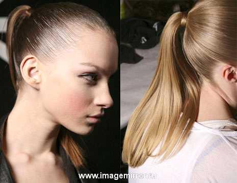 hair trendy khvosty kosoy probor i lenty 6