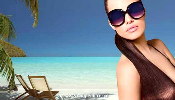Как ухаживать за окрашенными волосами летом
