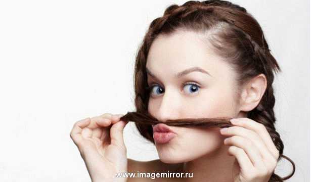 """Как женщине избавиться от """"усов"""""""