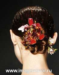 Модные волосы весна лето 2008