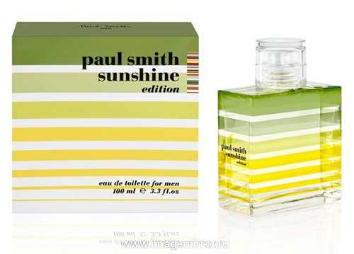 paul smith vypustit parnye aromaty sunshine editions 2013 1