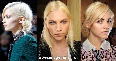 Нордический блондин