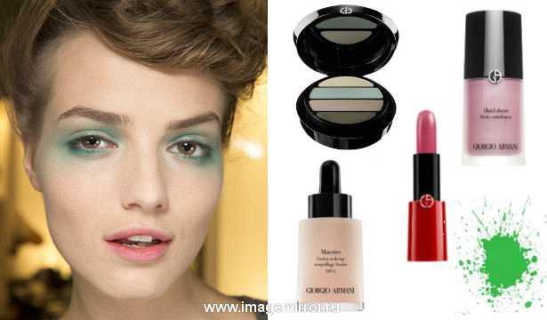 Весенний акварельный макияж от Armani: мастер-класс