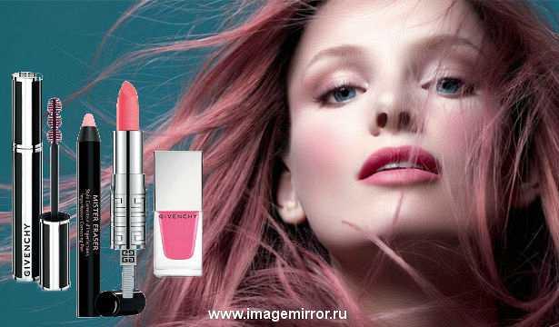 Весенняя коллекция макияжа Givenchy Over Rose Collection Spring 2014