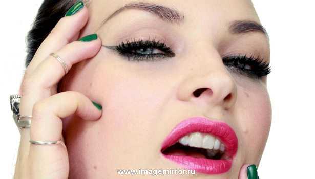 Видеоурок: быстрый макияж в стиле пин-ап